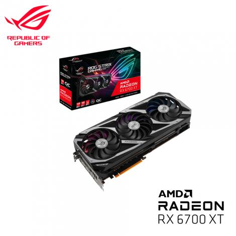 ASUS Radeon™ RX 6700XT 12GB GDDR6 192bits ROG STRIX GAMING