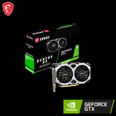 MSI GeForce® GTX 1660 SUPER™ 6GB 192 Bits GDDR6 Ventus XS OC