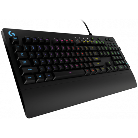 Teclado Gamer Logitech G213 Prodigy RGB, USB 2.0