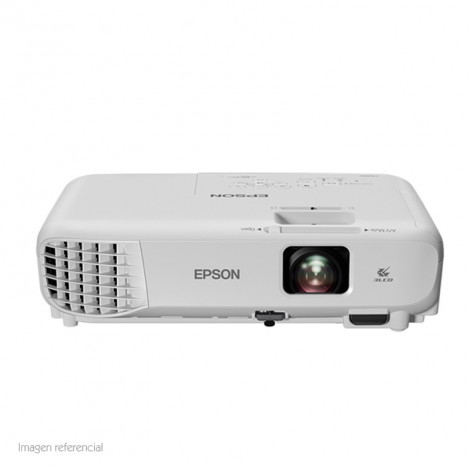 "Proyector Epson Power Lite X05+, 3300 Lúmenes, 1024x768, XGA, 30""- 300""."