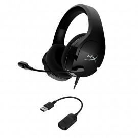 Auriculares HyperX Cloud Stinger Core 7.1, micrófono, conector 3.5mm, USB, Black