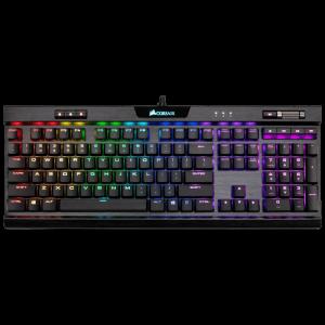 Teclado Gaming Corsair K70 RGB MK.2 Rapidfire RGB, LOW PROFILE.