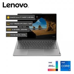 """Lenovo ThinkBook 13s G2 ITL, 13.3"""" WQXGA, Core i7-1165G7 2.8 / 4.7GHz, 16GB DDR4"""
