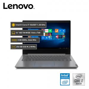 "Lenovo V14 IIL, Core i7-1065G7, 8GB DDR4, 256GB SSD M.2, 14"" HD TN"