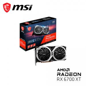 MSI Radeon™ RX 6700 XT 12GB GDDR6 192bits MECH 2X OC