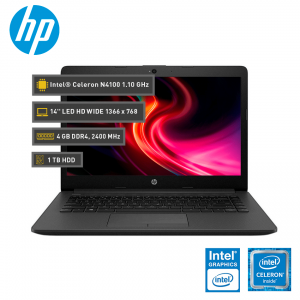 """HP 240 G7, Intel Celeron N4100 1.10 GHz, 4GB DDR4, 1TB SATA, 14"""" HD"""