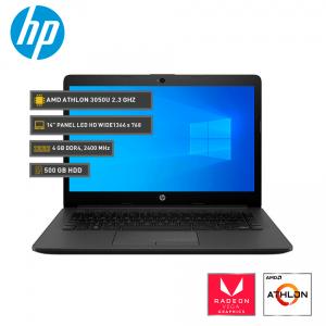 "HP 245 G7 AMD Athlon Silver 3050U, Radeon Vega Graphics, 4GB DDR4, 500GB SATA. 14"" HD LED"