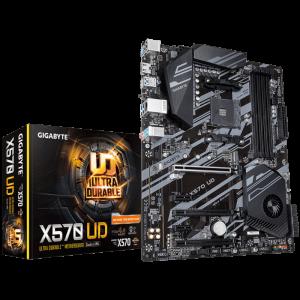 Motherboard Gigabyte X570 UD, rev 1.0, AM4, X570, DDR4,