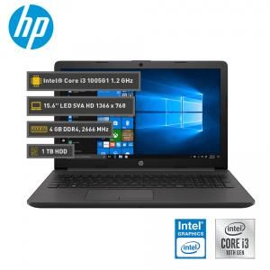 "HP 250 G8, 15.6"" HD LED SVA, Core i3-1005G1 Hasta 3.40GHz, 4GB DDR4, 1TB SATA,"