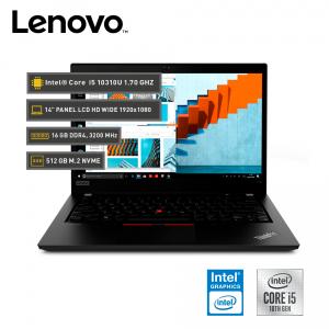 """Lenovo ThinkPad L14 14.0"""" LCD HD, Core i5-10310U vPro, 16GB DDR4, 512 GB M.2"""