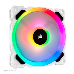 Fan Corsair LL120 RGB Led, 12 cm, 2200 RPM, 4 pines, PWM Control.