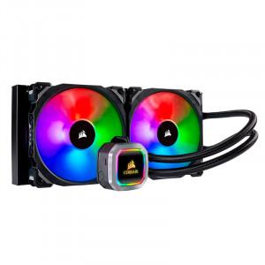 Sistema de enfriamiento Líquido Corsair Hydro Series H115i Platinum, CPU de Intel / AMD.