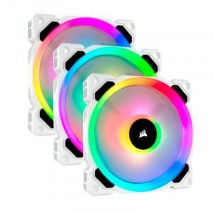 Fan Corsair Triple LL120 RGB, 12cm, 2200 ±10% RPM, PWM Control.