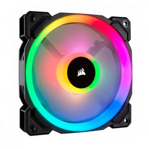 Fan Corsair LL120 RGB , 12 cm, 1500 RPM, 4 pines, PWM Control.