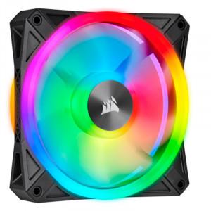 Fan Corsair QL140 RGB, 14 cm, 550 - 1250 ±10% RPM, PWM Control.