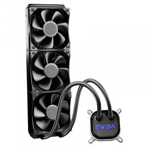 EVGA CLC 360mm All-In-One RGB LED CPU Liquid Cooler, 3x FX12 120mm PWM Fans, Intel, AMD