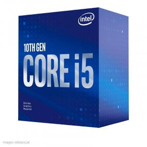 Procesador Intel Core™ i5-10400F, 2.90 GHz, LGA1200, 14 nm.