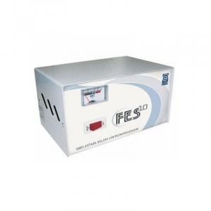 Estabilizador Elise - Fase FES-10, Sólido, 1.0kVA, 220V, 4 tomas a 220V, 1 toma a 110V.