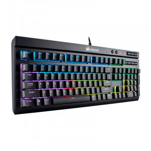 Teclado Corsair K68 RGB , CHERRY MX RED,  Multimedia, USB.