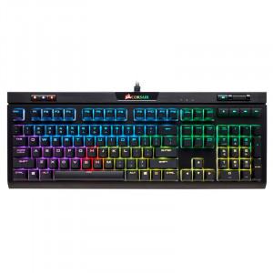 Teclado Gaming Corsair STRAFE RGB MK.2, Cherry MX Silent, USB 2.0