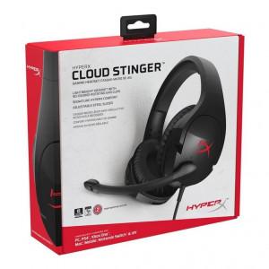 Auriculares Kingston HyperX Cloud Stinger, micrófono, conector 3.5mm, Negro.