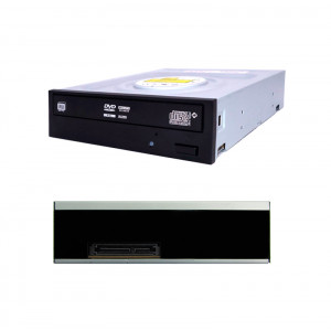 DVD SuperMulti Teros TE-224HL, 24X, interno, SATA, OEM, sin logo.