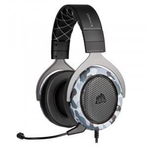 Auriculares Corsair HS60 Haptic BASS, micrófono, conector USB, Camuflaje