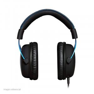 Auriculares Kingston HyperX Cloud , micrófono, conector 3.5mm, Negro / Azul.