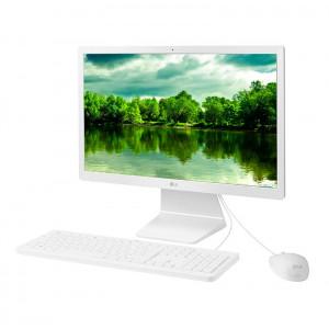 """All-in-One LG 22V280, 21.5"""" FHD IPS, Intel Celeron N4100 1.10GHz, 4GB DDR4, 500GB SATA."""