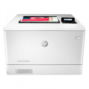Impresora HP LaserJet Pro 400 Color M454DW, 28 ppm, LAN / WiFi