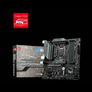 Motherboard MSI MAG B560M BAZOOKA, Intel B560, LGA1200, DDR4, USB 3.2 Gen2