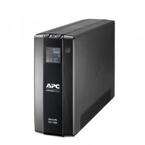 UPS APC SAI Back UPS Pro BR 780W / 1300VA, 8 tomas de salida, AVR, interfaz LCD