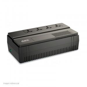 UPS APC BV650I-MS, línea interactiva, AVR, 650VA, 375W, 230VAC.