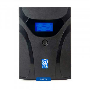 UPS Interactivo Elise Fase, AUR-1200-LCD-USB, 1200 VA / 600 W, Puerto inteligente USB-HID.