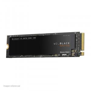 SSD Western Digital WD Black SN750, 500GB, PCIe Gen3, M.2 2280.