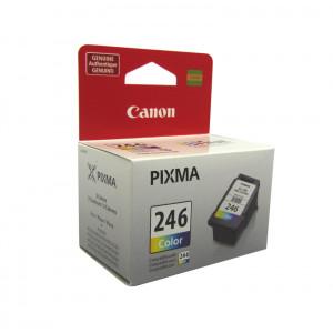 Cartucho de tinta Canon CL-246, Tri-Color, FINE Technology, 180 paginas.
