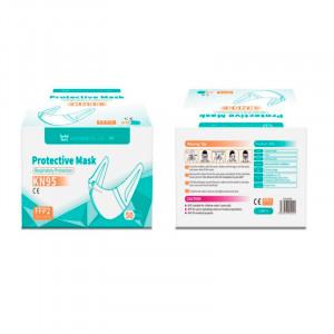 Mascarilla Protectora KN95 - Color Blanco - Presentacion en bolsas selladas de 50 unidades