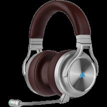 Auriculares Corsair Virtuoso Wireless SE BROWN, micrófono, Receptor USB, RGB
