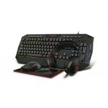 Kit Super GAMBYTE GRYPHUS-H, Teclado+Mouse+Auricular+Pad mouse