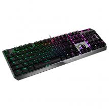 Teclado Gaming Gear Vigor GK50 Low Profile, Black, Ingles